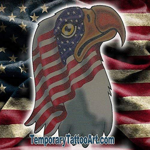 Amazon.com: USA temporary tattoo | NYC Fake removable tattoos & temp ...
