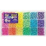 The Beadery Sparkles Pony Bead Box - approximately 2300 beads