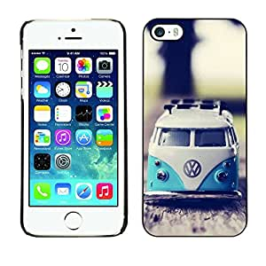 LASTONE PHONE CASE / Carcasa Funda Prima Delgada SLIM Casa Carcasa Funda Case Bandera Cover Armor Shell para Apple Iphone 5 / 5S / 70'S Weed Culture Van
