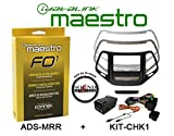 Idatalink Maestro ADS KIT-CHK1 Dash kit for Jeep Cherokee with ADS-MRR Steering Wheel / Accessory Control Interface and a FREE SOTS Air Freshner Package