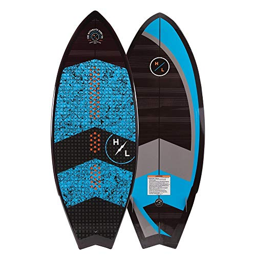 Hyperlite 2019 Broadcast Wakesurf Board, Sizes, 4.8, 5.4