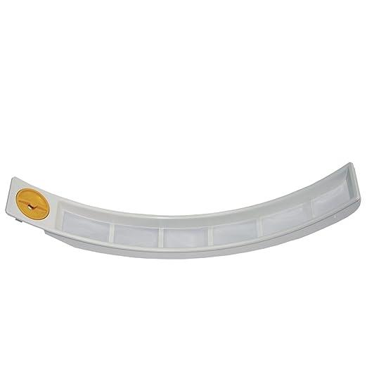 Original – Filtro antipelusa para puerta Colador Colador Entrada Anillo Secadora MIELE 6162751 6162750