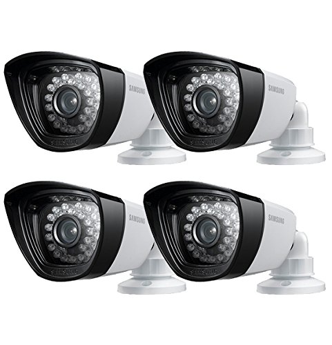 Set of 4 Samsung Sdc-7340 BC 960h High Resolution Security Camera W O Cables