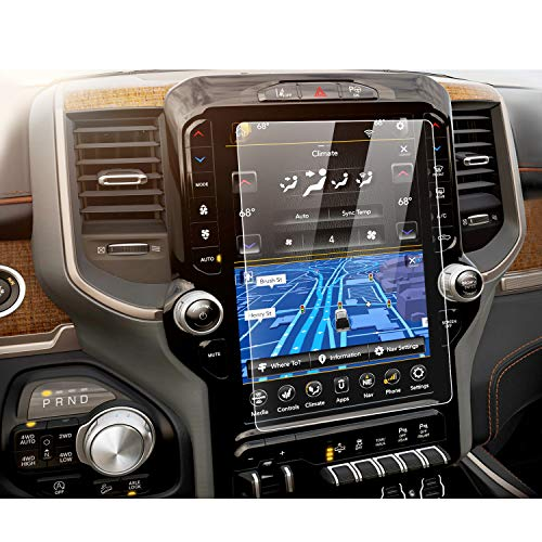 YEE PIN 2019 Ram 1500 Laramie Longhorn/Ram 1500 Limited Uconnect 12-inch Touch Screen and Navigation Protector Film