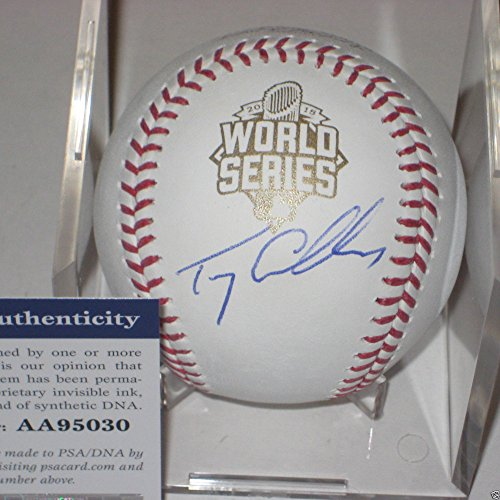 Terry Collins Ny Mets Signed Official 2015 World Series Baseball - PSA/DNA Certified - Signed MLB Baseball Authentication