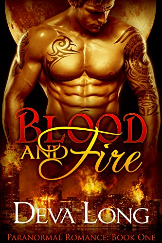 Blood Fire Book Paranormal Romance ebook product image
