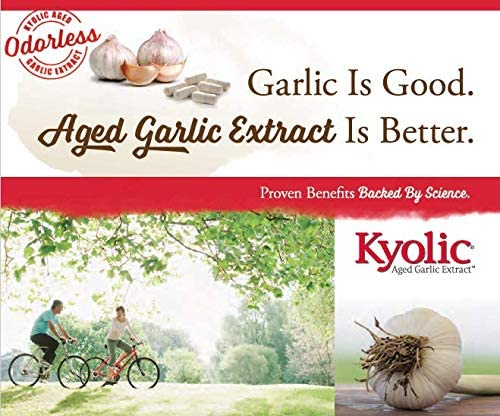Kyolic Aged Garlic Extract Formula 109 Blood Pressure Health