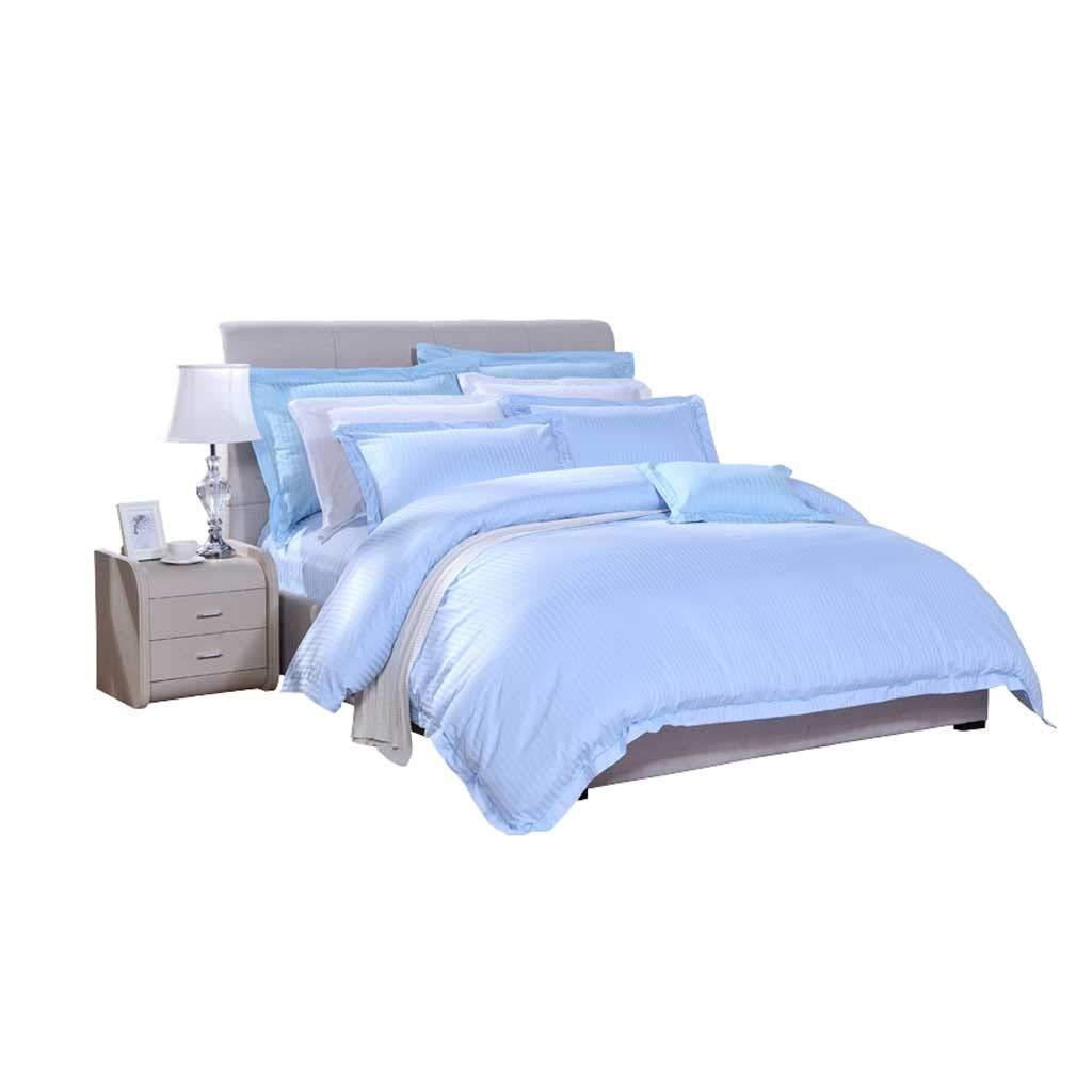 寝具セットホームテキスタイルポリエステルとコットンジャカード4ピースコットン掛け布団カバーとシート B07NKZ4ZQL