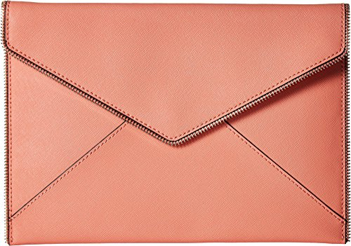 n's Leo Clutch Pale Coral One Size (Coral Clutch)