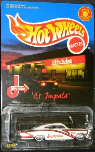 HOT WHEELS 65 IMPALA JIFFY LUBE
