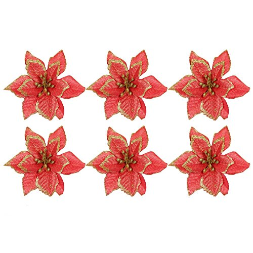 50 wired stems of artificial holly berries 100 plastic berries in total by floral natalie