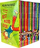 Judy Moody 14 Book Collection Set (Judy Moody, Gets Famous, Saves the world, Predicts the future, The Doctor is in, Declares independence, Around the world in 8 1/2 days, Goes to college, Girl Detective, The Not Bummers Summer, The Bad Luck Charm, Mood Martian, the Bucket list, The right Royal Tea Party)