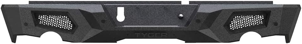 Non-Carb Compliant 1 Tyger Auto TG-BP9D80398 Black 1 TG-BP9D80398 Fury Rear Bumper Assembly Textured Black Compatible with 2009-2018 Dodge Ram 1500 Including 2019 Classic