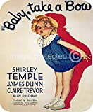 Baby Take a Bow Vintage Shirley Temple Movie MOUSE PAD