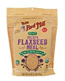 Bob's Red Mill Organic Golden Flaxseed Meal, 16-ounce (Pack of 4)