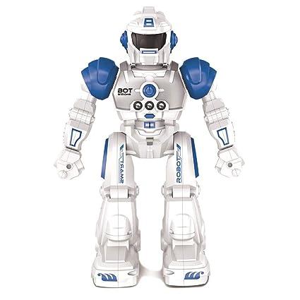 Robot Gesture Sensing Control remoto inalámbrico Smart Robot Model Juguetes educativos para niños, Remote control