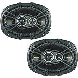 Kicker 40CS6934 Car Audio Triaxial 6x9 Speakers CS693 (Certified Refurbished)
