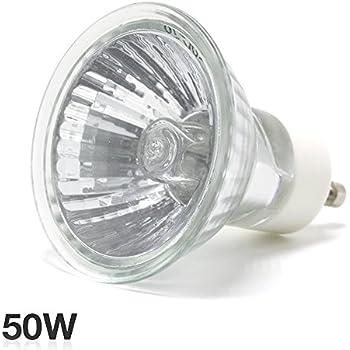 ETOPLIGHTING |1-Pack| 50W 120V Halogen Bulb with GU10 Base ...