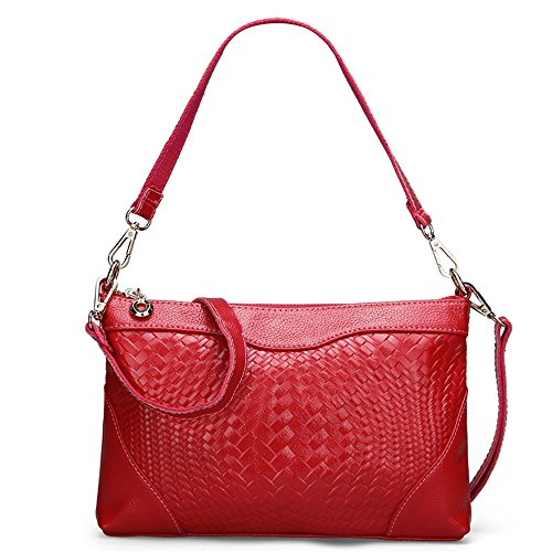 Gwqgz Multi-functional Minimalist Fashion Of Single Ladies Casual Bag Satchel Satchel Bag Oxblood Red Gules