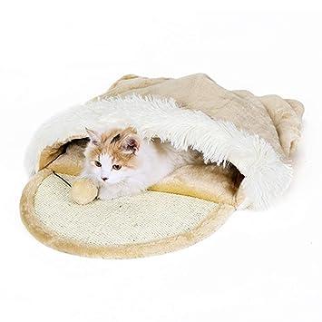 PETwo - Saco de Dormir para Gatos con diseño de Primavera y otoño con diseño de