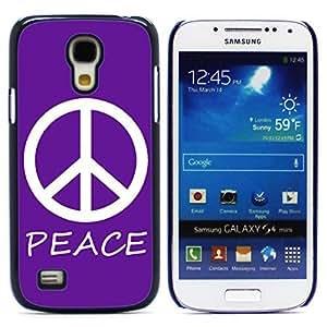 Hu Xiao Peace Sign Design case cover for Samsung Galaxy S4 4CgfX29eQD6 Mini