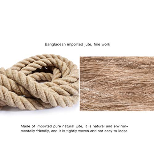 Battle Rope Diameter 38 mm UFC Fitness Training Rope Strength Training Physical Training Full Body Fitness 9M / 12M / 15M (Size : 12m) by BAI-Fine (Image #1)