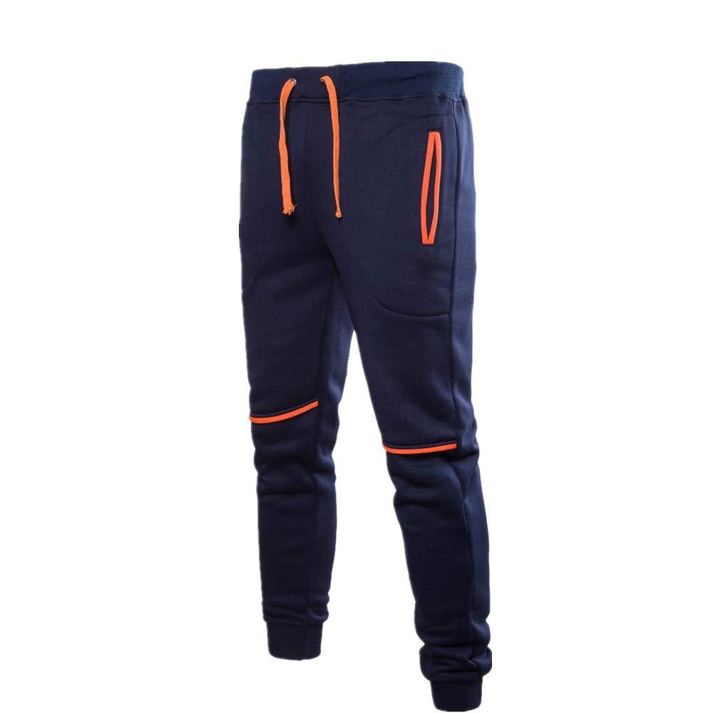 Muranba Mens Pants APPAREL メンズ B07GKGLTPJ Navya Large