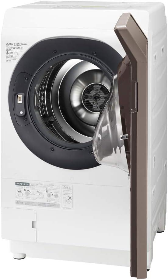 シャープ 洗濯機 ドラム式洗濯機 ヒートポンプ乾燥 右開き(ヒンジ右) 洗濯乾燥機 洗濯11kg/乾燥6kg ES-G112-TR