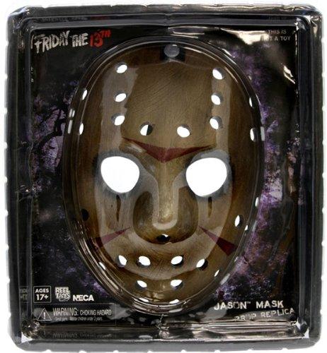 Freddy contra Jason serie 2 máscara de Jason Voorhees 01:01 prop réplica: Amazon.es: Juguetes y juegos