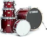 Yamaha Stage Custom Birch 5pc Drum Shell Pack - 22'' Kick, Cranberry Red