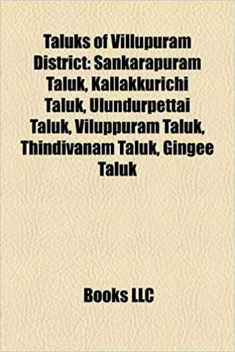Amazon in: Buy Taluks of Villupuram District Book Online at