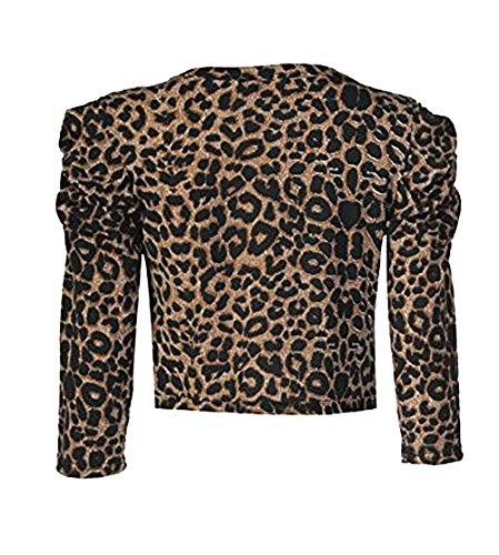 Zara Fashion - Torera - para mujer LEOPARD BROWN