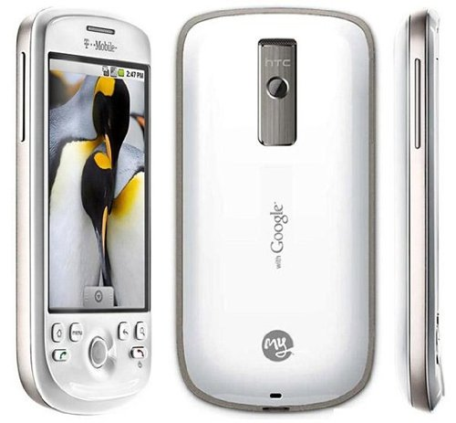HTC myTouch 3G Unlocked Android Phone with 3G Support, GPS, and Touch  Screen - US Warranty - White