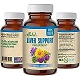 All Natural Liver Detox Cleanse - Repairing Formula - 11 Super Herbs - Non-GMO - 100 Veg Caps - Milk Thistle Dandelion Artichoke Red Clover Sarsaparilla PAU d'Arco Yellow Dock