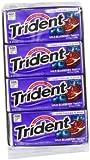 Trident Gum, Wild Blueberry Twist, 18-Count (Pack of 12)