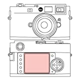 Martin Fields Overlay Plus Screen Protector with Advanced Glass Hard Coating for Leica (M9 / M8)