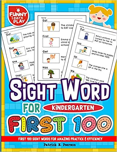 First 100 Sight Words for Amazing Practice & Efficiency: 100 ...