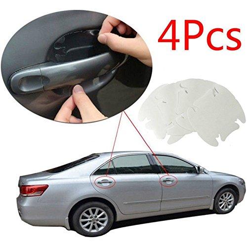 Leaftree - Decal Sheet Pellicola per Porta Maniglia Pellicola Adesiva Trasparente Pellicola Protettiva Trasparente Invisibile in PVC