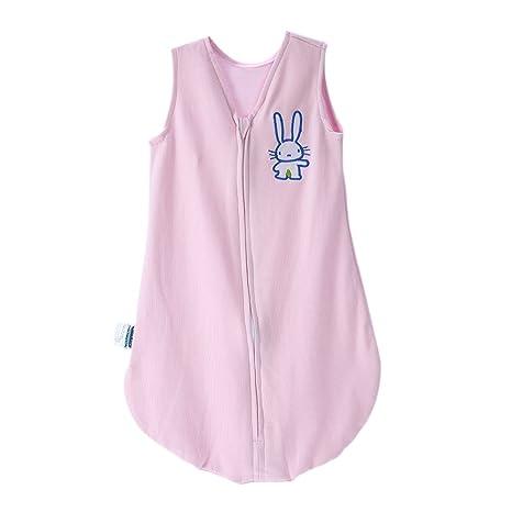 Docooler Saco de Dormir para bebés 100% algodón Saco de Dormir Manta ponible Ropa de