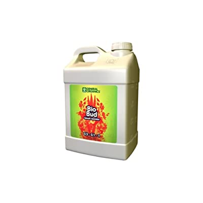 General Hydroponics GH5334 Hydroponics General Organics BioBud, 2.5 gal Bloom Stimulator : Garden & Outdoor