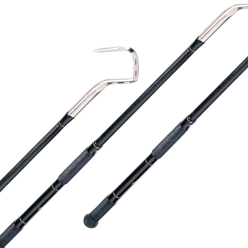 Top Shot Fixed Gaffs - Handle Length 6' - Hook Spread 3''