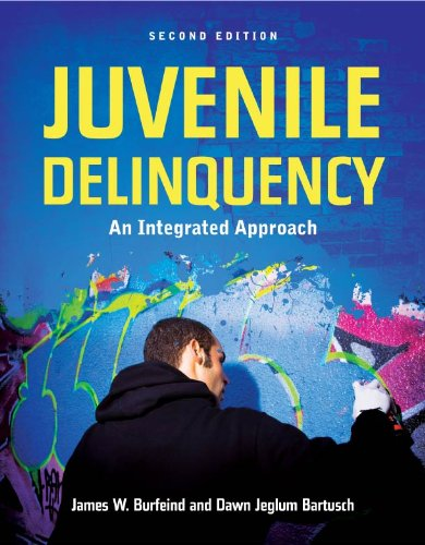 Download Juvenile Delinquency: An Integrated Approach: An Integrated Approach Pdf
