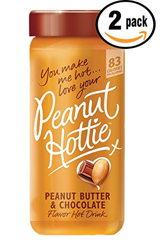 Pack of 2 - 9.15 oz Peanut Hottie Peanut Butter & Chocolate Flavored Hot Drink 9.15 oz