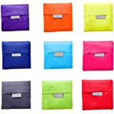 Comfysail 3 Pack Fold Up Shopping Bag Reusable Grocery Bags and Handy Travel Bags Random Color