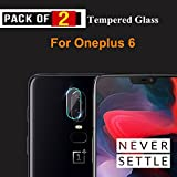 BRAND AFFAIRS™ Present Premium Quality [HD Clear] Camera Screen Protector for One Plus 6 (Transparent) [Pack of 2 Glass]