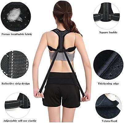 Posture Corrector Para Mujeres y Hombres, Back Brace Comfortable ...