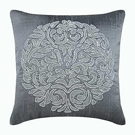 55x55 cm cojines para sofas, Gris fundas para cojines ...