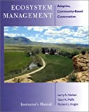 Ecosystem Management, Gary K. Meffe and Larry A. Nielson, 1559638257