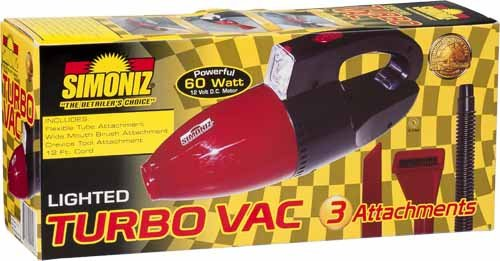 Handheld Turbo Vac - Simoniz RD200-6 Hand Held Turbo Vac Car Vacuum