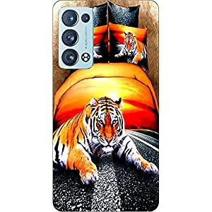 Joe Designer Printed Back Case Cover for Oppo Reno 6 Mobile (Multicolor) art131